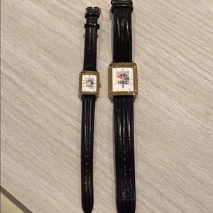 Bulova Watches. NBC Branded. Two for one deal!